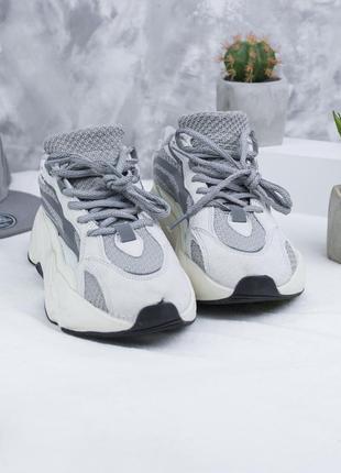 Кроссовки adidas x kanye west yeezy 700 v2 grey