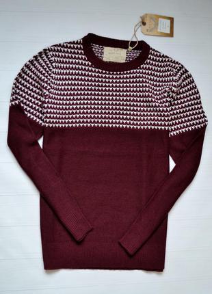 Классный мужской свитер реглан brave soul l