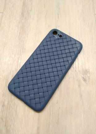 IPhone 7 / 8 чехол силиконовый синий proda