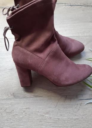 Ботильоны, ботиночки цвета пудры