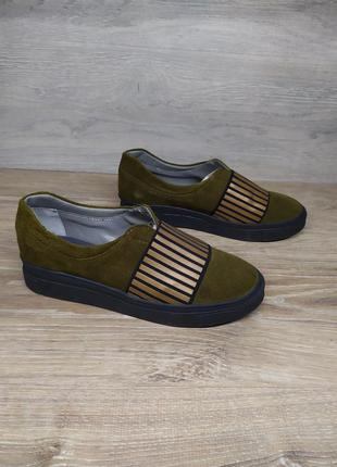 Замшевые  кроссовки женские  37 размера , кроссовки с резинкой...