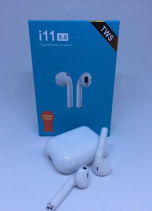 Беспроводные наушники i11 BT5.0 Гарнитура Bluetooth AIRPODS