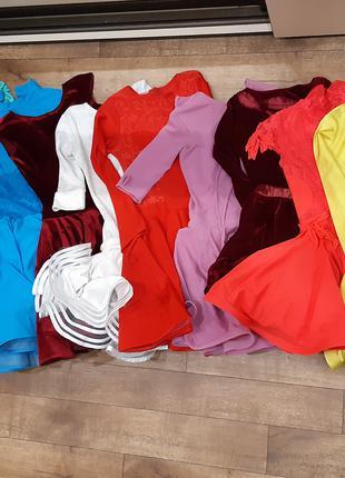 Прокат платьев для спортивно-бальных танцев (бейсиков)