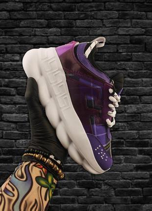 Кроссовки женские chain reaction violet