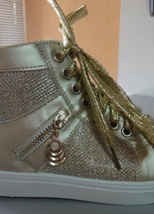 Демисезонные ботинки 37-41 р., маломерят