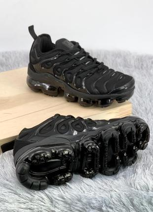 Кроссовки air vapormax plus tn all black