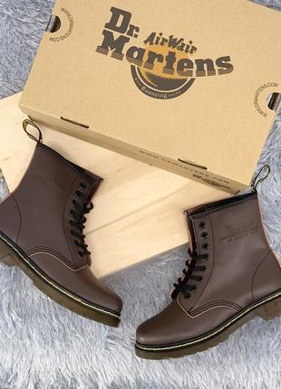 Топовые ботинки на шнурках натуральная кожа