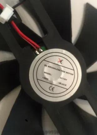 Вентилятор индукционной плиты 18В. 18V . Диаметр вентилятора 110м