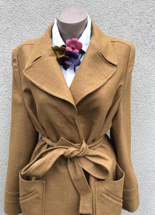 Красивое,тонкое,осень-весеннее пальто,тренч под пояс,украина,s...
