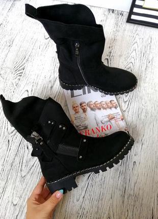 Качественные зимние ботинки зима