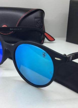 Солнцезащитные очки зеркальные ray ban поляризованные линзы