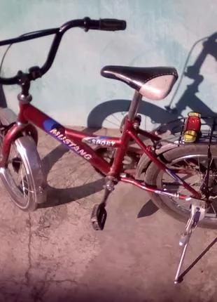 Ск Детский велосипед от 3-10 лет колеса на 16 размер