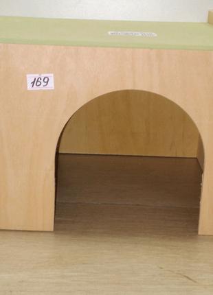 Домик для грызунов, для кроликов(дом большой) деревяный