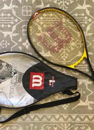 Ракетка теннисная Wilson Tour Pro 25 Titanium (большой теннис)