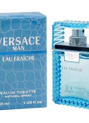 Versace man eau fraiche туалетная вода 30,50,100мл,тестер мини...
