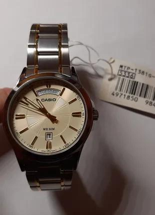 Годинник наручний кварцовий Casio MTP-1381G-9A