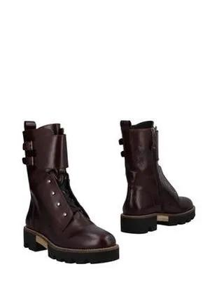 Ботинки кожаные ,деми Elvio Zanon.Оригінал.