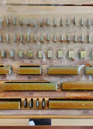 Набор концевых плоскопараллельных мер длины