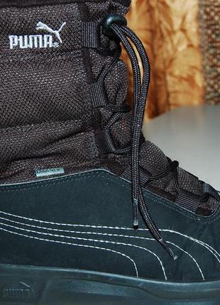 Puma зимние ботинки 34 размер