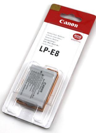 Батарея Canon LP-E8 EOS 550D 600D 650D 700D EOS Kiss Digital X4