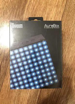 Новая Divoom AuraBox колонка динамик Bluetooth микрофон