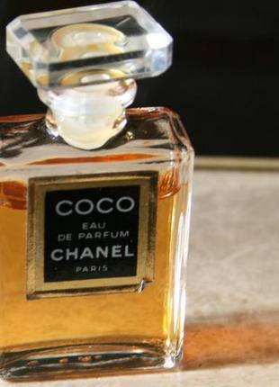 Chanel coco edp винтажная миниатюра