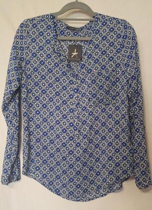 Блузка рубашка свободного кроя