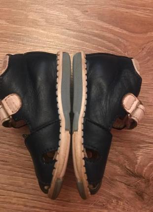 Ортопедические сандалии/босоножки с закрытым носком таши орто.