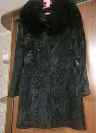 Шикарное Пальто с ягненка