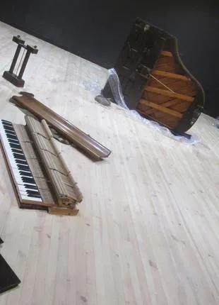 Утилизация фортепиано, утилизация пианино в Киеве, вывоз пианино,