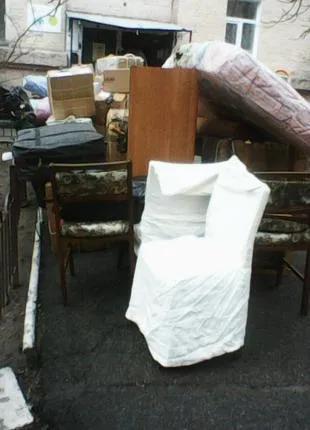 Вывоз старой мебели Киев, утилизацию мебели в Киеве,