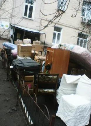 Услуги по вывозу мебели на утилизацию, вывоз пианино в Киеве,