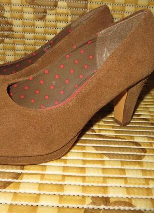 Туфли на устойчивом каблучке