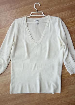 Брендовый пуловер, кофта. бренд h&m
