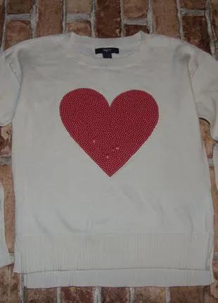 Кофта свитер девочке 10 - 11 лет