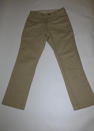 Светлые джинсовые брюки 6-7лет