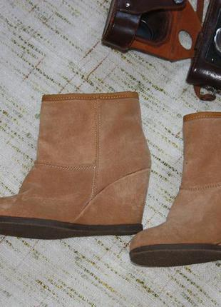 Замшевые ботильоны. сникерсы. ботинки на платформе