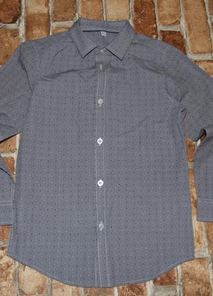 Рубашка нарядная мальчику 8 - 9 лет Marks & Spencer