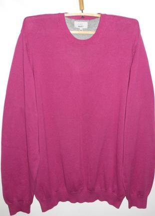 Мужской свитер большого размера 100% хлопок