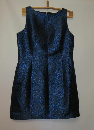 Шикарное нарядное платье футляр р.16