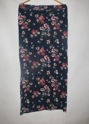 Длинная юбка в пол, с боку разрез л/хл jean pascale