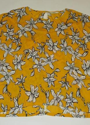 Желтая блуза р.18 жатка