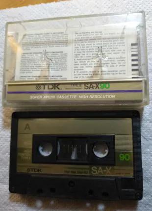 Кассета TDK SA-X 90