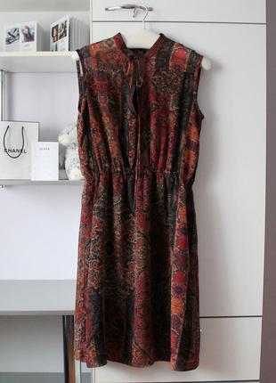 Платье в бохо стиле от mango