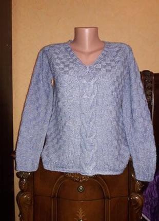 Новый свитер кофта ручной работы
