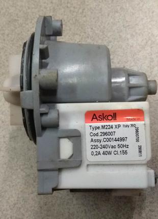 Помпа Насос Askoll M224 XP 296007 стиральной машины Electrolux