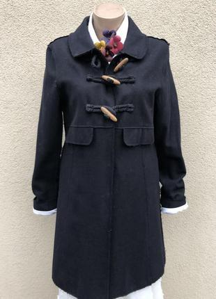 Шерсть,кашемир,пальто,маленький размер,винтажном стиле,(не обр...