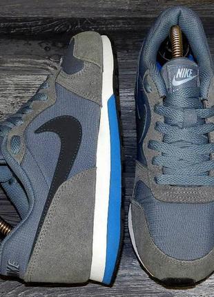 Nike md runner ! оригинальные, кожаные невероятно крутые кросс...
