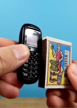 ХИТ!! Мини телефон с изменением голоса! Гарнитура!
