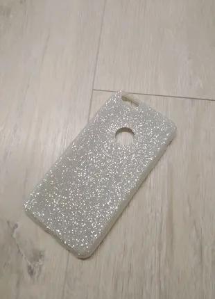 IPhone 6 Plus / 6s Plus чехол силиконовый с блестками